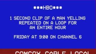 ComCox Cable Local Bulletin Board