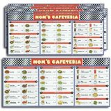 DSS Cafeteria Basic Menu Math - Set of 6 Extra Menu Boards