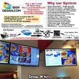 2 Complete System 2 Devices + 2 Screen Design for 9 -- Digital Menu System with Android Mini PC, FTP & Software, Bakeries, Coffee Shops, Pizzerias, HTML5 Webpage Design Dynamic Digital Menu.