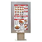 Outdoor Digital Menu Board Enclosure for 46